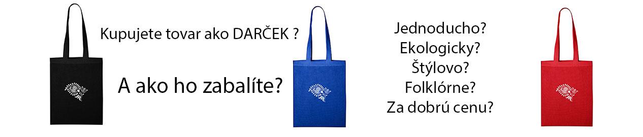 darčekové tašky banner