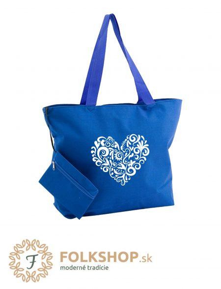 plážová taška modrá 17