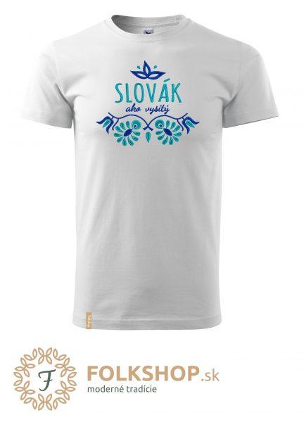 pánske tričko_slovák ako vyšitý