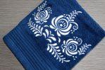Modrý uterák