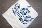 uterák biely vzor 33