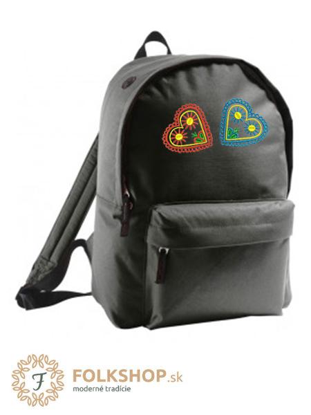 Čierny ruksak vzor 31