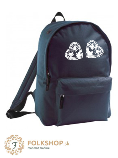 Modrý ruksak vzor 31