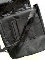 čierna taška- vnútro
