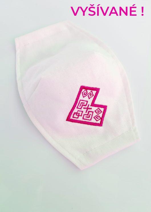 Biele-s-výšivkou-čičmanyksé-srdce---ružové