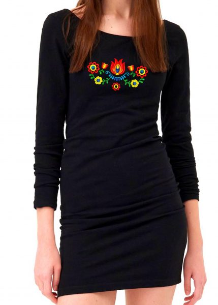 čierne šaty 50
