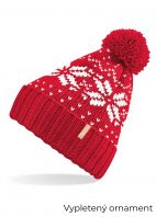 Červená-čiapka-s-bielym-motívom-20